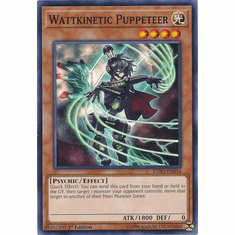 Wattkinetic Puppeteer EXFO-EN034 Common - YuGiOh Extreme Force