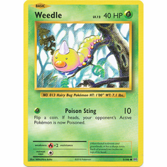 Weedle 5/108 Common - Pokemon XY Evolutions Single Card