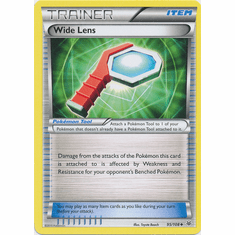 Wide Lens 95/108 Uncommon - Pokemon XY Roaring Skies Card