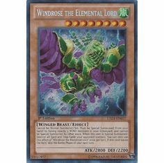 Windrose the Elemental Lord LTGY-EN037 - Secret Rare