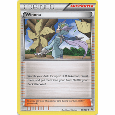 Winona 96/108 Uncommon - Pokemon XY Roaring Skies Card