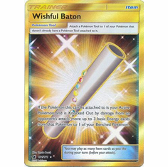 Wishful Baton 121/111 Secret Rare - Pokemon Crimson Invasion Card