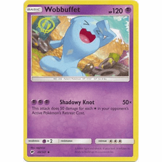 Wobbuffet 49/147 Uncommon - Pokemon Sun & Moon Burning Shadows Card