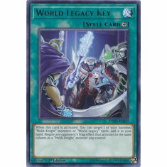 World Legacy Key EXFO-EN057 Rare - YuGiOh Extreme Force