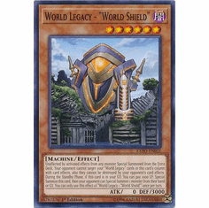 World Legacy - World Shield EXFO-EN021 Common - YuGiOh Extreme Force
