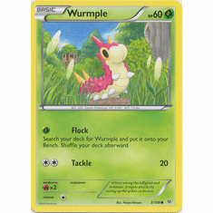 Wurmple 3/108 Common - Pokemon XY Roaring Skies Card