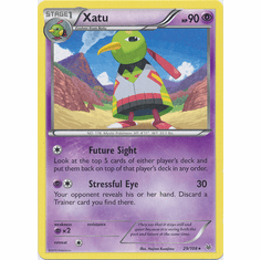 Xatu 29/108 Rare - Pokemon XY Roaring Skies Card
