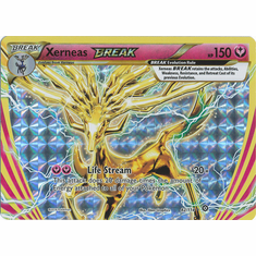 Xerneas BREAK 82/114 Rare BREAK - Pokemon XY Steam Siege Card