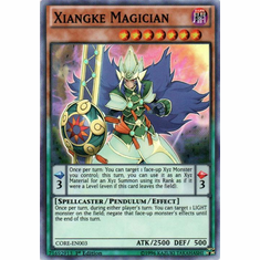 Xiangke Magician CORE-EN003 Super Rare - YuGiOh Clash of Rebellions Card