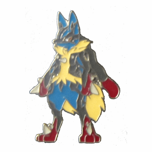 XY Mega Lucario Collector's Pin
