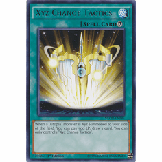 Xyz Change Tactics NECH-EN094 - Rare The New Challengers Card