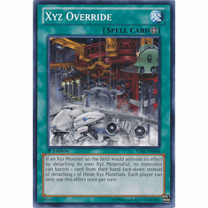Xyz Override LVAL-EN068 - YuGiOh Legacy Of The Valiant Common Card