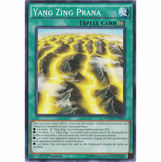 Yang Zing Prana DUEA-EN062 - Common Duelist Alliance Card