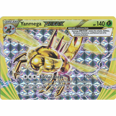 Yanmega BREAK 8/114 Rare BREAK - Pokemon XY Steam Siege Card