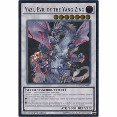 Yazi, Evil of the Yang Zing NECH-EN051 - Ultimate Rare The New Challengers