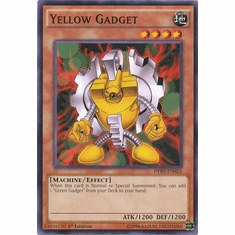Yellow Gadget DPRP-EN023 Common - YuGiOh Rivals Of The Pharaoh Card