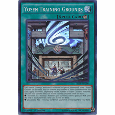Yosen Training Grounds THSF-EN008 - YuGiOh The Secret Forces Super Rare Card
