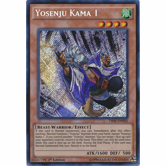 Yosenju Kama 1 THSF-EN003 - YuGiOh The Secret Forces Secret Rare Card