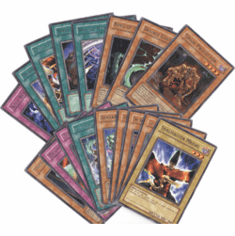 Yu-Gi-Oh! Ancient Sanctuary Complete Set of Rare Cards (17 Cards)