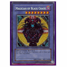 Yu-Gi-Oh Card Game Magician Of Black Chaos Secret Rare HoloFoil Card