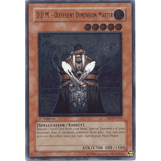 Yu-Gi-Oh! Cybernetic Revolution - D.D.M. Different Dimension Master (Ultimate Secret Holofoil)
