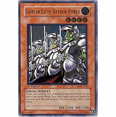 Yu-Gi-Oh! Cybernetic Revolution - Goblin Elite Attack Force (Ultimate Secret Holofoil) Card