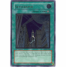 Yu-Gi-Oh! Cybernetic Revolution - Skyscraper (Ultimate Secret Holofoil) Card