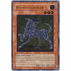 Yu-Gi-Oh! Cybernetic Revolution - Wroughtweiler (Ultimate Secret Holofoil)