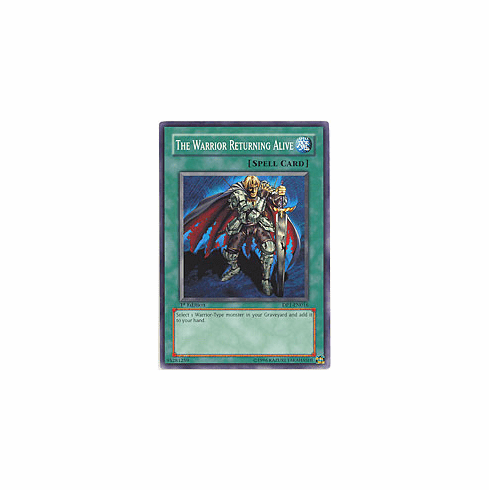 Yu-Gi-Oh! GX Jaden Yuki - The Warrior Returning Alive Card