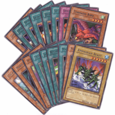 Yu-Gi-Oh! Labyrinth of Nightmare Complete Set of Rare Cards