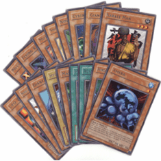 Yu-Gi-Oh! Magic Ruler Complete Set of Rare Cards (17 Cards)