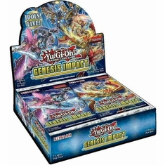 Yu-Gi-Oh! TCG Genesis Impact Booster Box 1st Edition Sealed