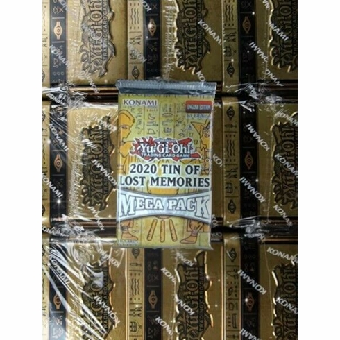 YuGiOh 2020 Tin of the Lost Memories Booster Mega Pack [18 Cards!] KONAMI