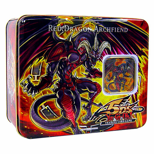 YuGiOh 5D's 2008 Holiday Collector's Tin Red Dragon Archfiend
