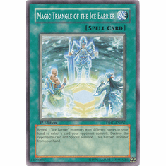 Yugioh 5D's Shining Darkness Single Common Magic Triangle of the Ice Barrier Card