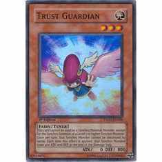 Yugioh 5D's Shining Darkness Single Super Rare Trust Guardian Card
