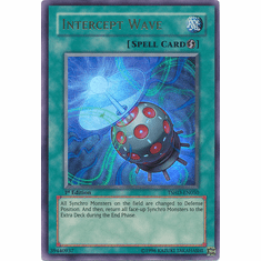 Yugioh 5D's Shining Darkness Single Ultra Rare Intercept Wave Card