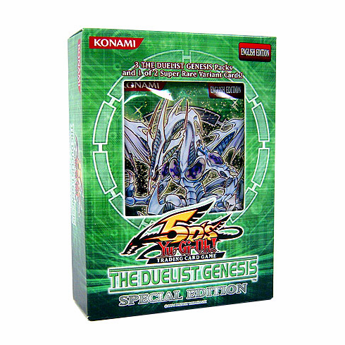YuGiOh 5D's The Duelist Genesis Special Edition Pack
