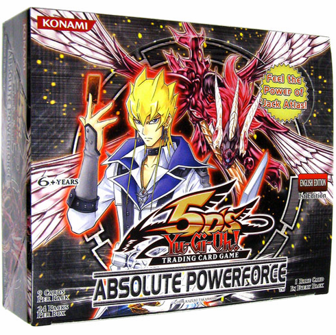 YuGiOh Absolute Powerforce Booster Box