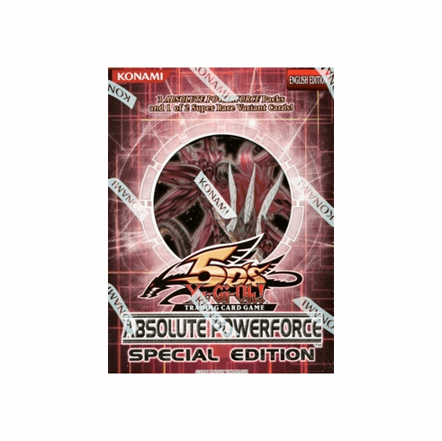 YuGiOh Absolute Powerforce Special Edition Deck