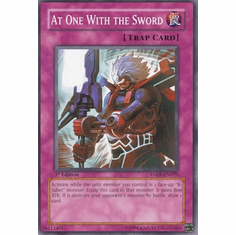 YuGiOh Ancient Prophecy At One With the Sword ANPR-EN079 Common Single Card