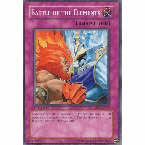 YuGiOh Ancient Prophecy Battle of the Elements ANPR-EN075 Common Single Card