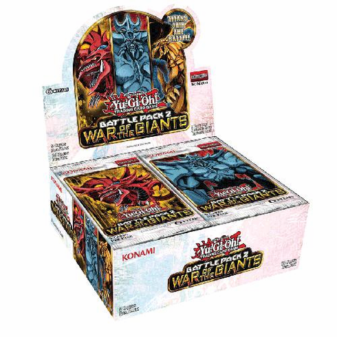 YuGiOh Battle Pack 2: War Of The Giants Booster Box