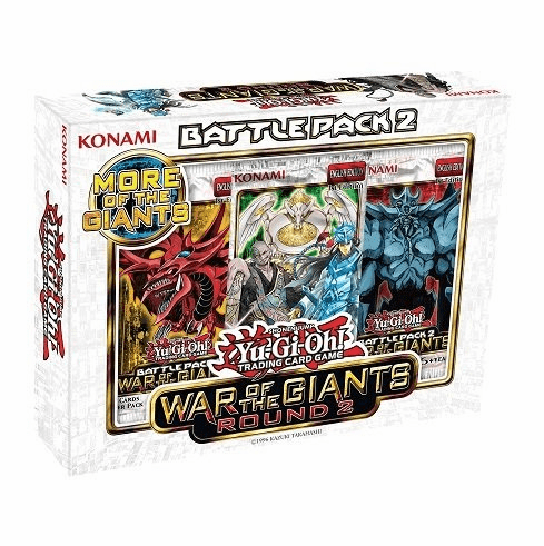 YuGiOh Battle Pack 2: War Of The Giants (Round 2) Box