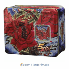 YuGiOh Black Rose Dragon Holiday Collector's Tin