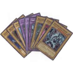 YuGiOh Blue Eyes White Dragon Complete Set of Dragon Cards (10 cards)