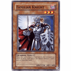 YuGiOh Common Promo Single Card - Familiar Knight EP1-EN006