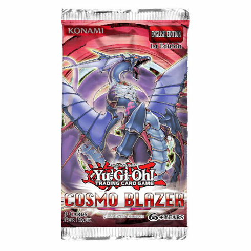 YuGiOh Cosmo Blazer Booster Pack