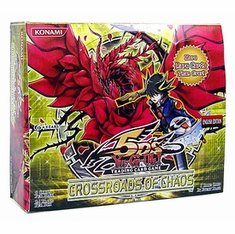 YuGiOh Crossroads Of Chaos Booster Box