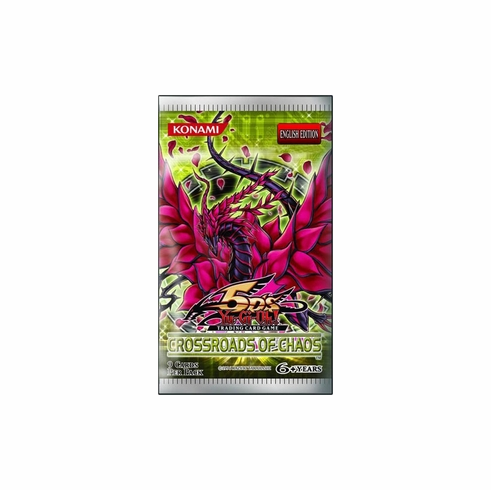 YuGiOh Crossroads Of Chaos Booster Pack